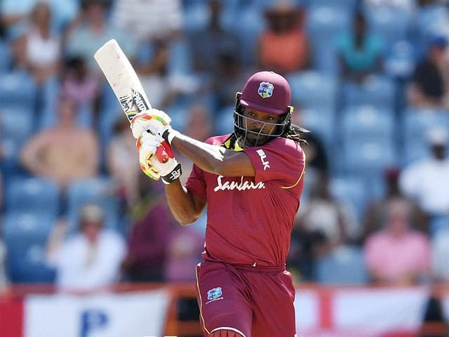 Gayle's recent performance for the West Indies has not been an advantage